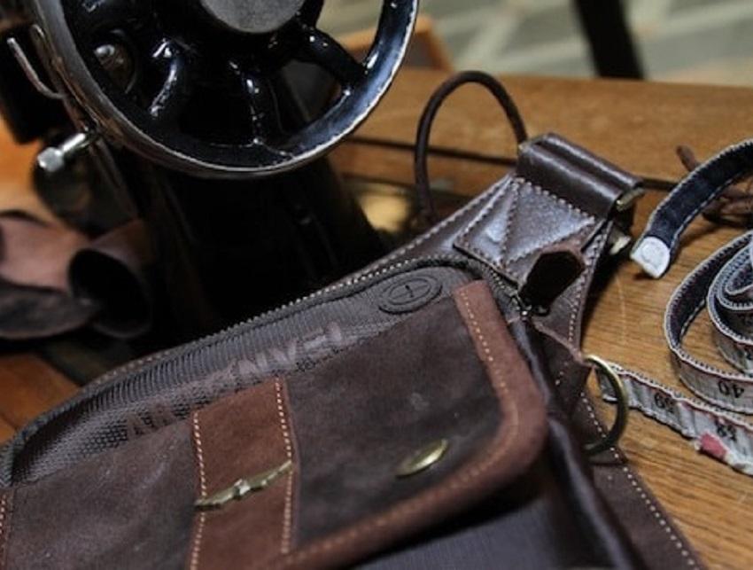 sacs personnalisés en cuir femme homme