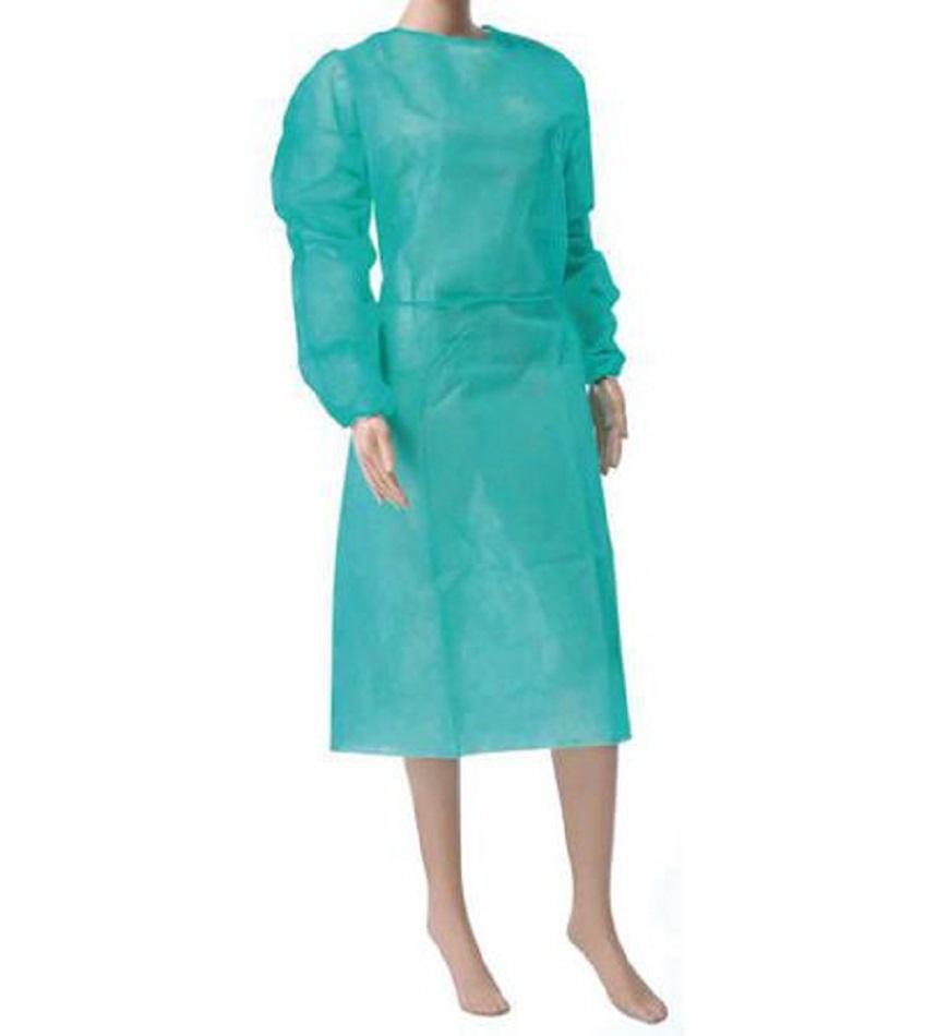 Blouses médicales jetables en turquoise