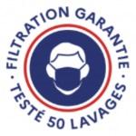 Masques testés 50 lavages - Filtration garantie